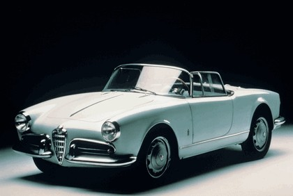1955 Alfa Romeo Giulietta spider 1