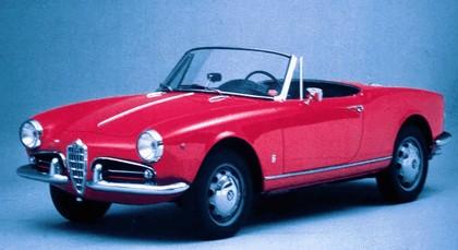 1955 Alfa Romeo Giulietta spider 2