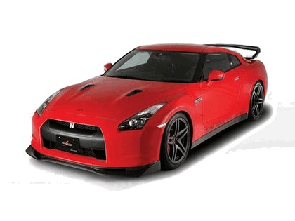 2009 Nissan GT-R R35 aero kit by Shadow Sports Design 1
