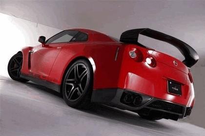 2009 Nissan GT-R R35 aero kit by Shadow Sports Design 5