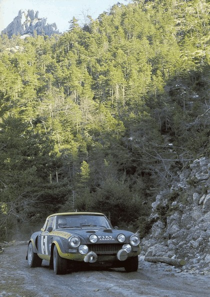 1975 Fiat 124 Abarth rally 1