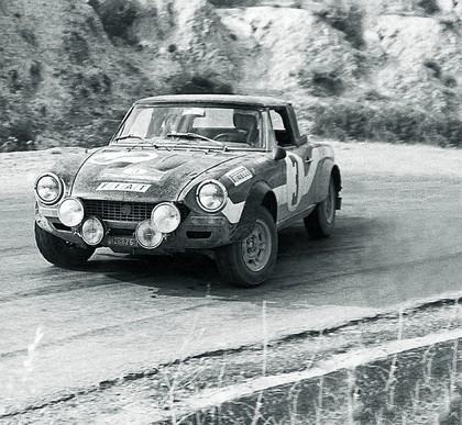 1975 Fiat 124 Abarth rally 4
