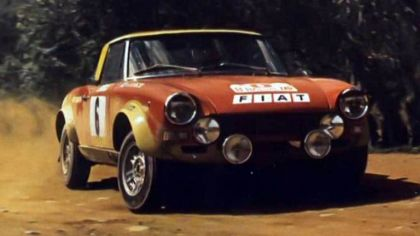 1975 Fiat 124 Abarth rally 4