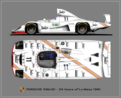 1981 Porsche 936/81 Spyder 9