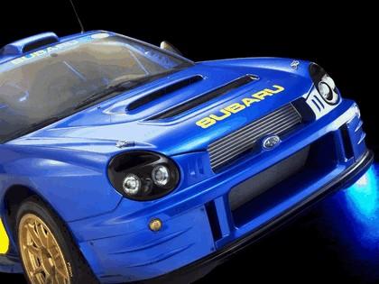 2001 Subaru Impreza WRC 5