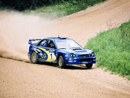 2001 Subaru Impreza WRC 9