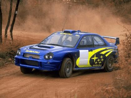 2001 Subaru Impreza WRC 10