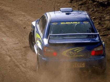 2001 Subaru Impreza WRC 14