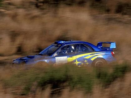 2001 Subaru Impreza WRC 15