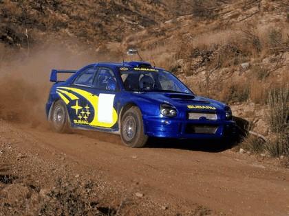 2001 Subaru Impreza WRC 16