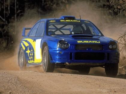 2001 Subaru Impreza WRC 17