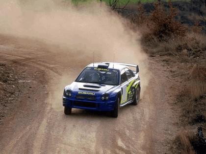 2001 Subaru Impreza WRC 20