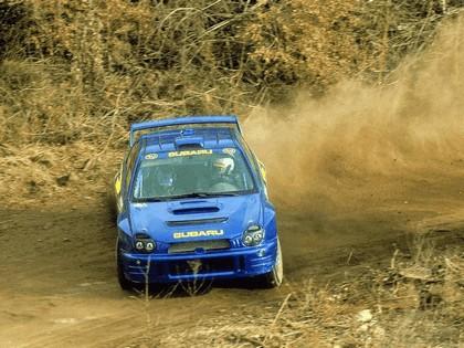 2001 Subaru Impreza WRC 21