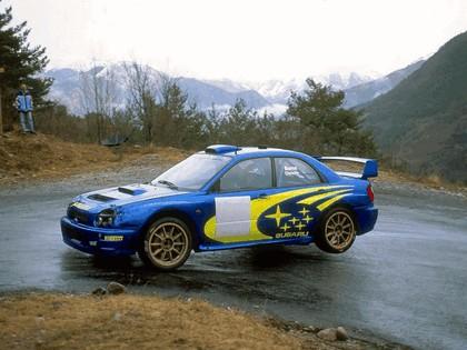 2001 Subaru Impreza WRC 26