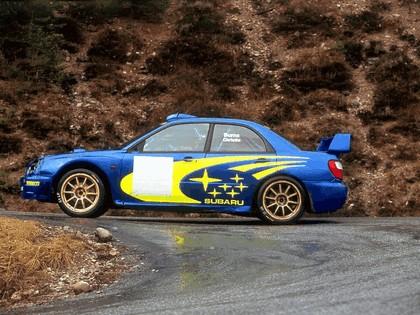 2001 Subaru Impreza WRC 27
