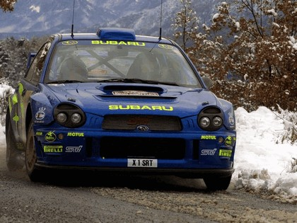 2001 Subaru Impreza WRC 33