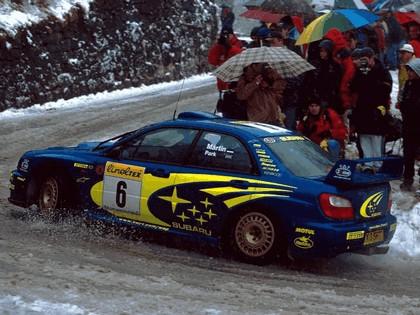 2001 Subaru Impreza WRC 35