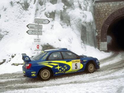 2001 Subaru Impreza WRC 40