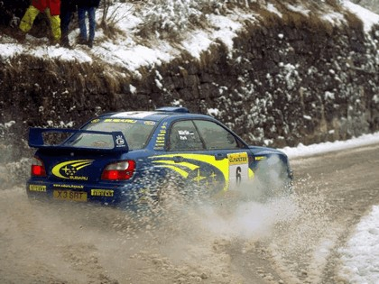 2001 Subaru Impreza WRC 41