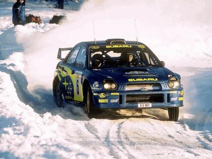 2001 Subaru Impreza WRC 58