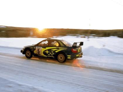2001 Subaru Impreza WRC 60