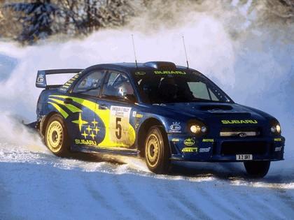 2001 Subaru Impreza WRC 62