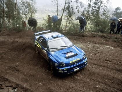 2001 Subaru Impreza WRC 73