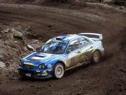 2001 Subaru Impreza WRC 74