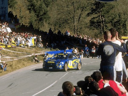 2001 Subaru Impreza WRC 80