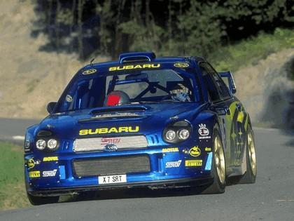 2001 Subaru Impreza WRC 82
