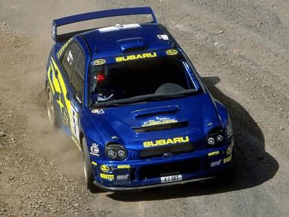 2001 Subaru Impreza WRC 83