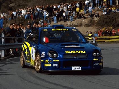 2001 Subaru Impreza WRC 84