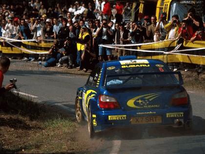 2001 Subaru Impreza WRC 85