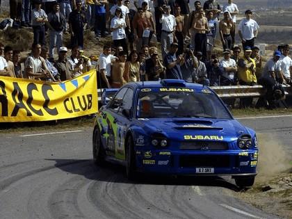 2001 Subaru Impreza WRC 86