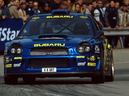 2001 Subaru Impreza WRC 87