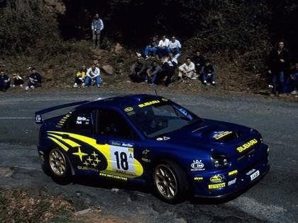 2001 Subaru Impreza WRC 88