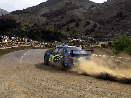 2001 Subaru Impreza WRC 90