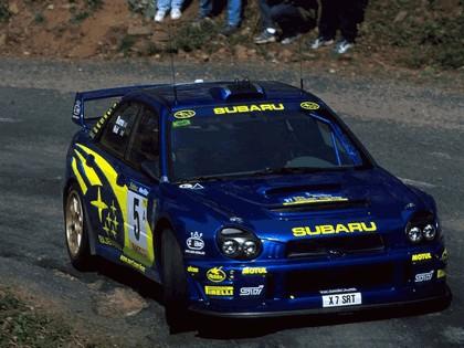 2001 Subaru Impreza WRC 91