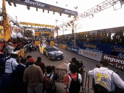 2001 Subaru Impreza WRC 92