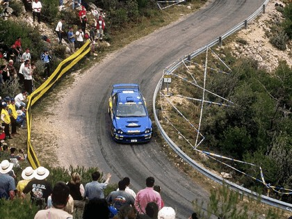 2001 Subaru Impreza WRC 93