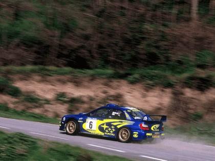 2001 Subaru Impreza WRC 99
