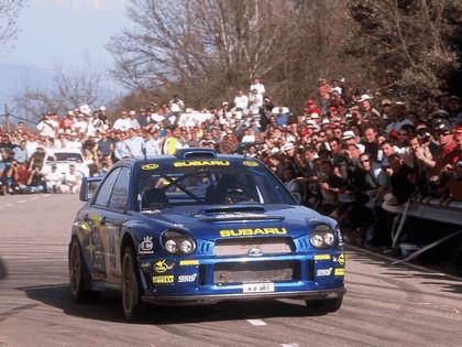 2001 Subaru Impreza WRC 100