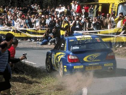 2001 Subaru Impreza WRC 104