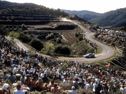 2001 Subaru Impreza WRC 107