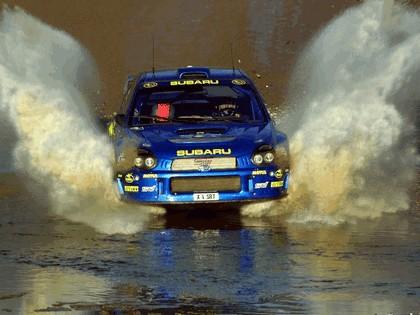 2001 Subaru Impreza WRC 110