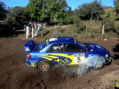 2001 Subaru Impreza WRC 124