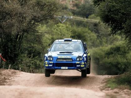 2001 Subaru Impreza WRC 128