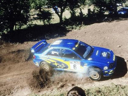 2001 Subaru Impreza WRC 133