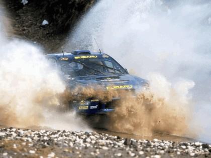 2001 Subaru Impreza WRC 134