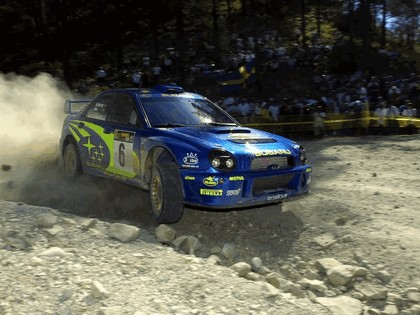 2001 Subaru Impreza WRC 142